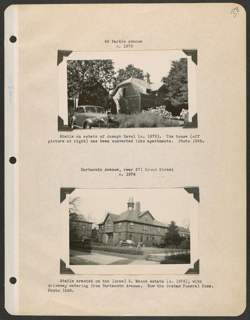 Page 38, Parkis Avenue; Dartmouth Avenue