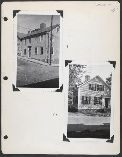 Page 353, Thayer Street