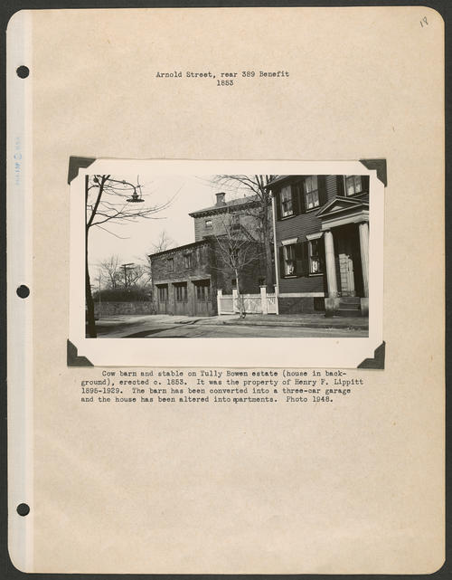 Page 18, Benefit Street; Arnold Street