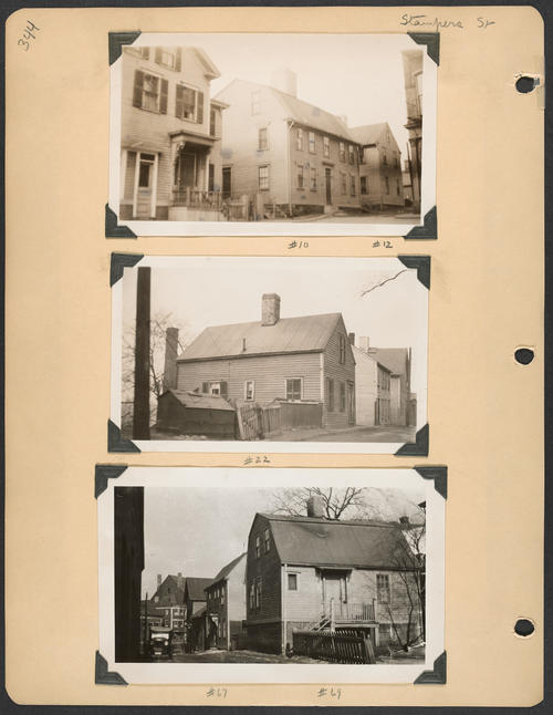 Page 344, Stampers Street; North Main Street