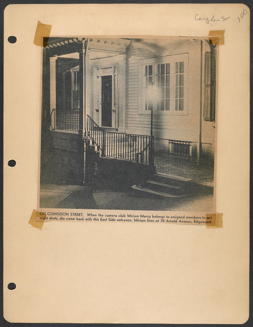 Page 120, Congdon Street