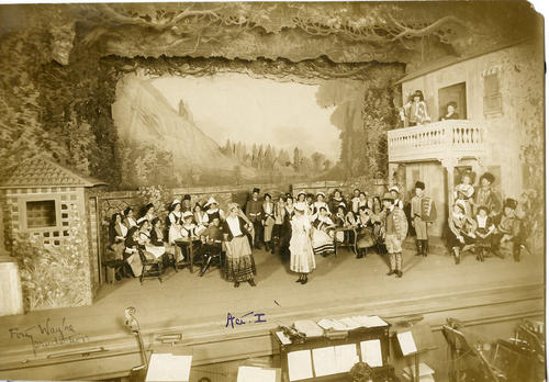"""The Romany Maid"" stage performance"
