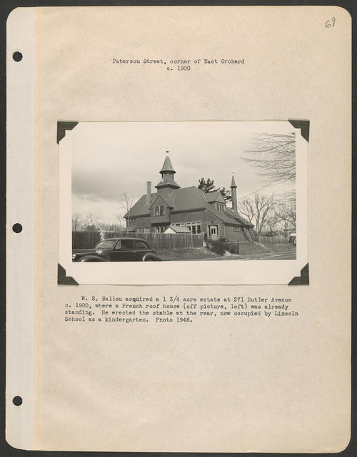 Page 69, Butler Avenue; Peterson Street; East Orchard Street