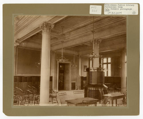 Providence Public Library, periodical room