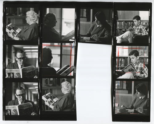 Providence Public Library, contact sheet