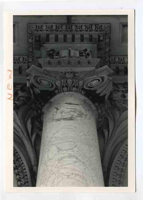 Providence Public Library, column