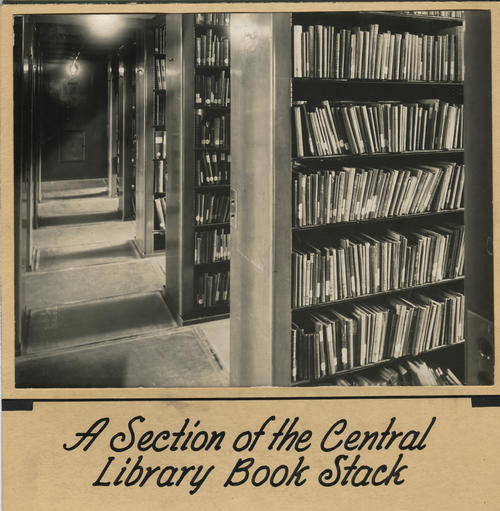 Providence Public Library, stacks