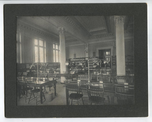 Providence Public Library, reference room