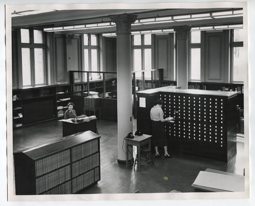 Providence Public Library, cataloguing room