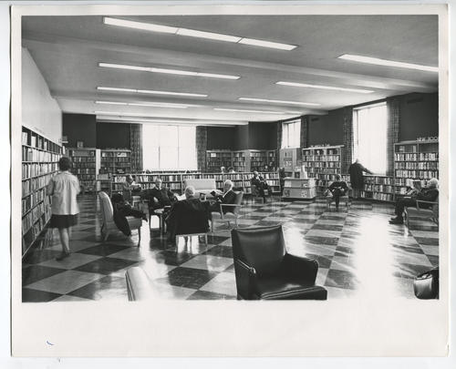 Providence Public Library, reading lounge