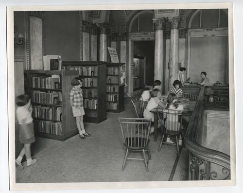 Providence Public Library, temporary Boys' and Girls' Library