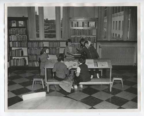 Providence Public Library, Boys' and Girls' department