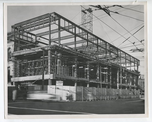 Providence Public Library, addition construction
