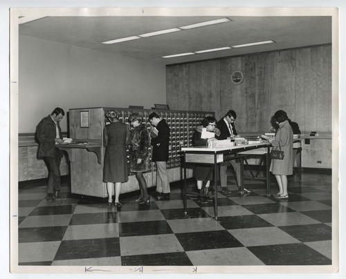Providence Public Library, card catalogue