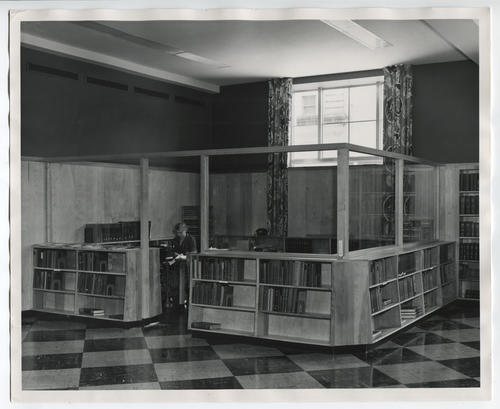 Providence Public Library, library office