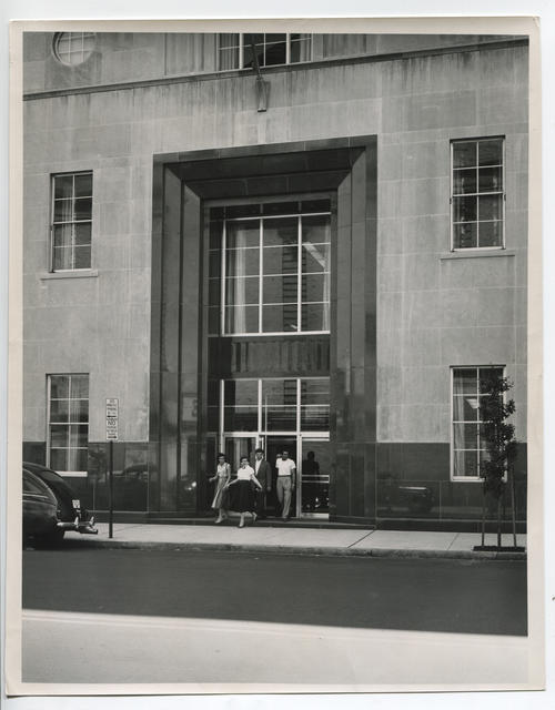 Providence Public Library, Empire Street entrance