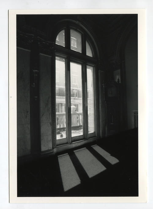 Providence Public Library, window