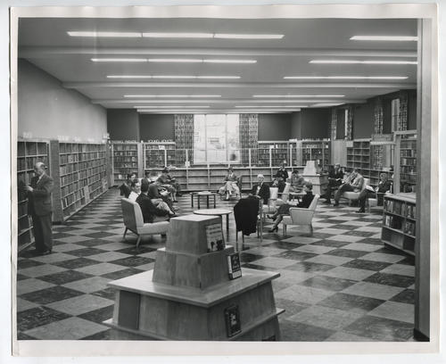 Providence Public Library, reading room