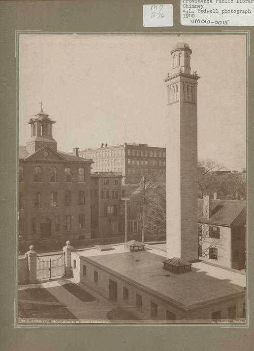 Providence Public Library chimney