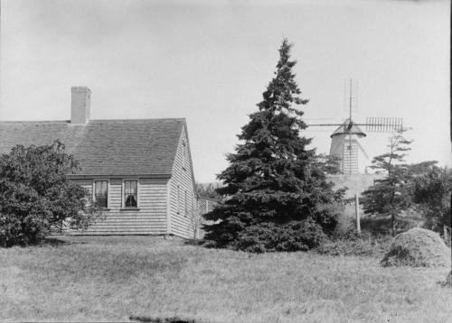 House with windmill